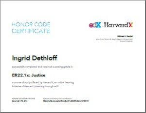 Justice Certificate Thumbnail