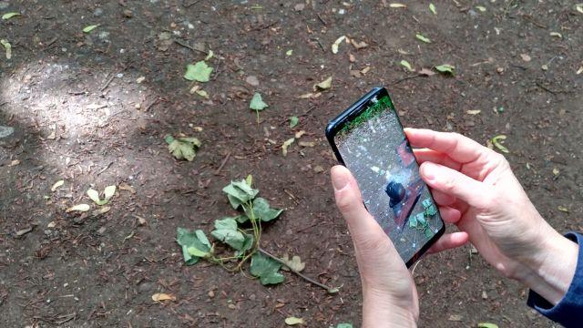 Hello AR U3D App im Einsatz