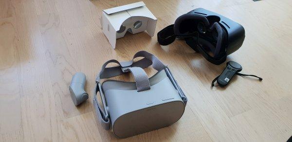 3 VR-Brillen